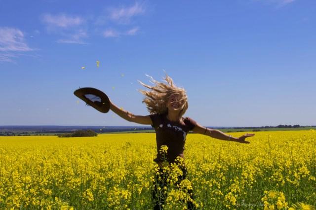 I miei viaggi, io e i campi gialli