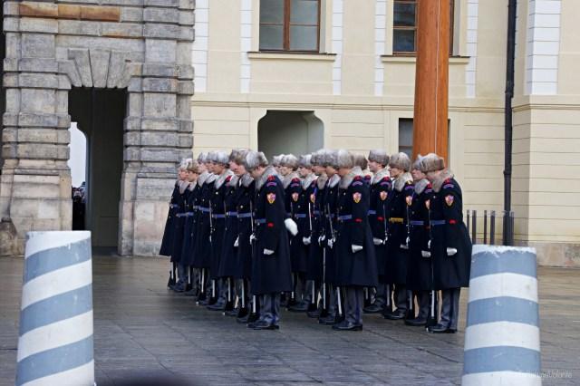 Praga, cambio della guardia