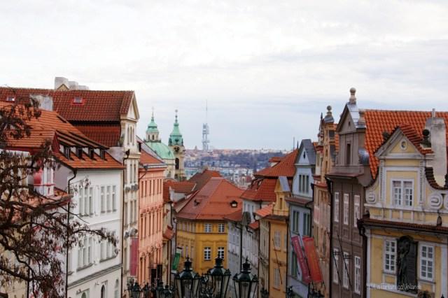 Praga, via della città piccola