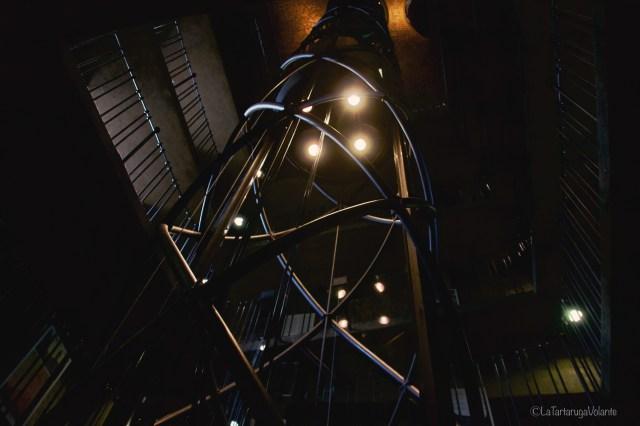 Praga, scale della torre dell orologio