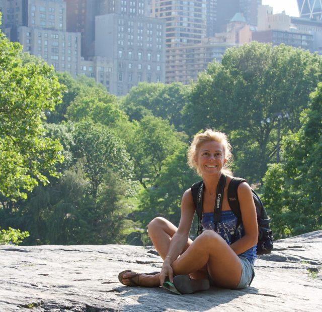 dove dormire a New york, io al central park