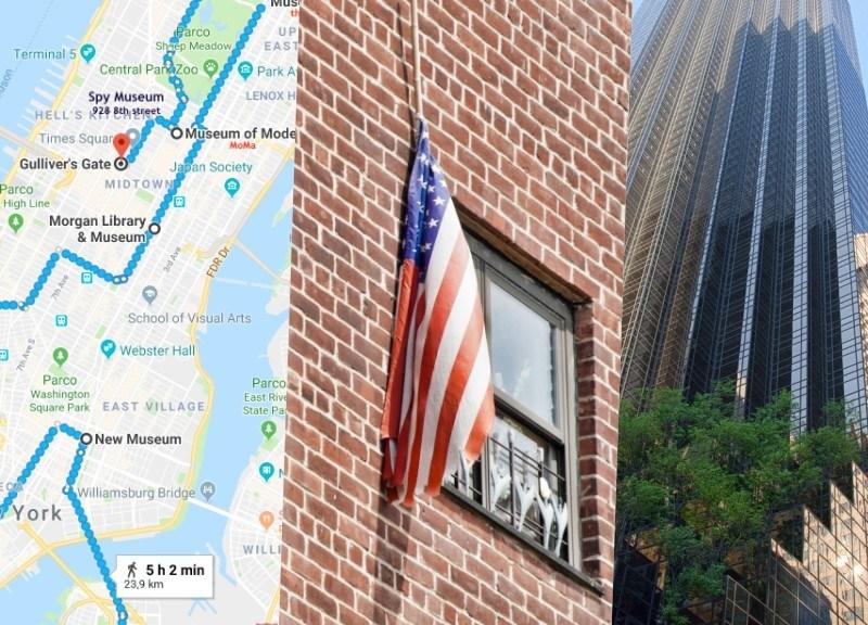 Itinerario New York foto prima pagina