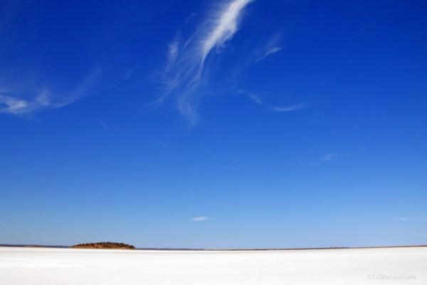 Baladjie lago bianco