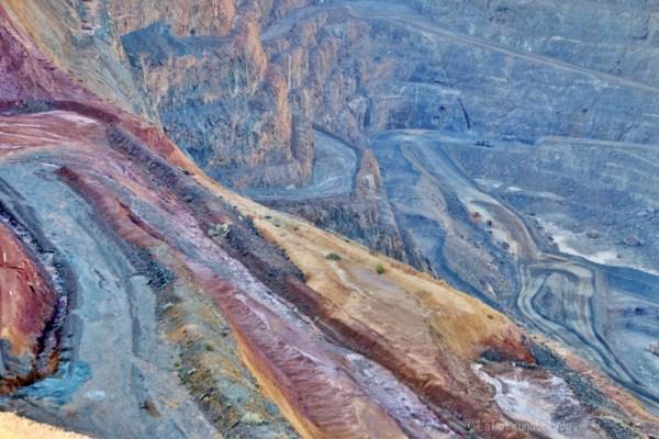 kalgoorlie particolare di super pit, lake ballard e goldfields region