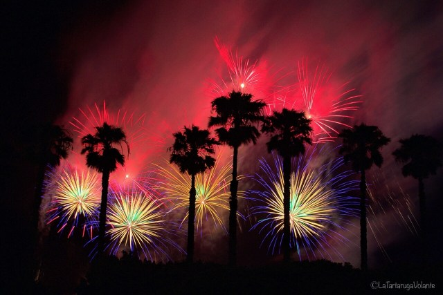 Fuochi d'artificio, nye perth