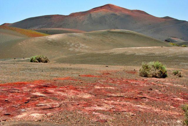 Lanzarote, altro paesaggio multicolore