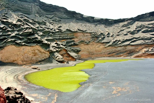 Lanzarote e la laguna verde