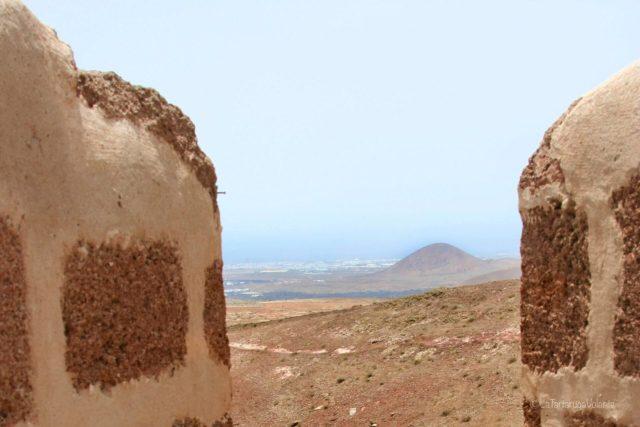 Lanzarote, scorcio dal castello