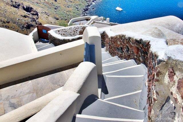 Santorini e le scale
