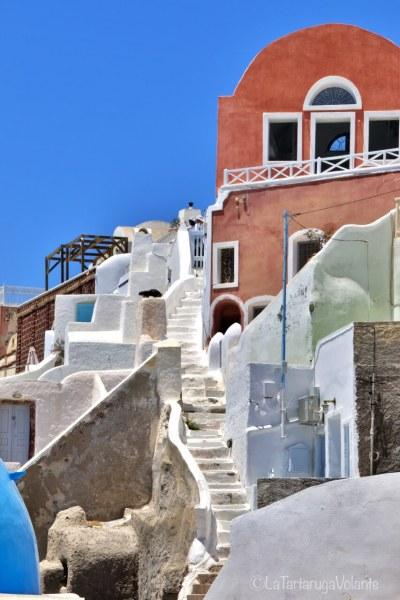Santorini, scorcio di Imerovigli