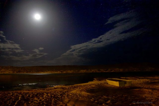 la luna sul Murchison River