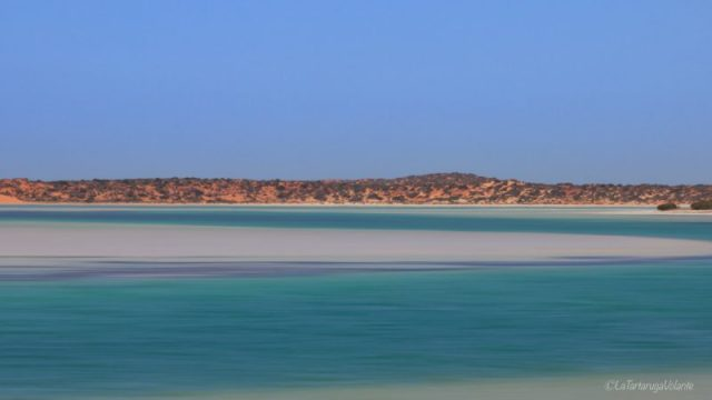 blue lagoon lunga esposizione