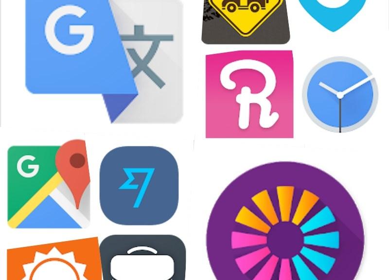 App da viaggio, icone