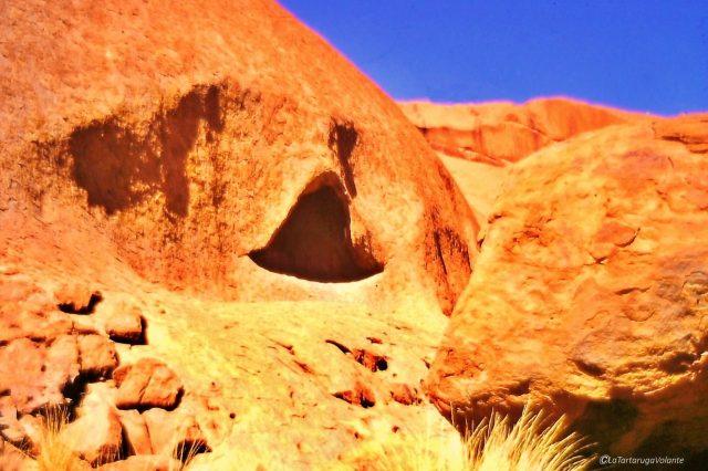 il meglio dell'Australia - Ayer Rock particolare