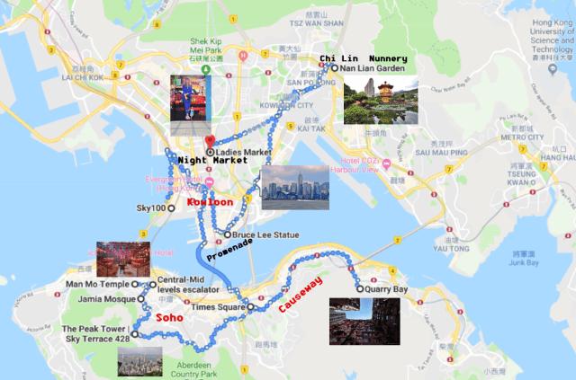 Itinerario Hong Kong