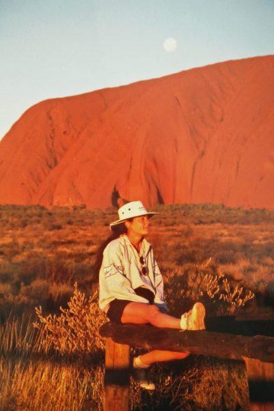il meglio dell'Australia - io all'Ayers Rock(1)