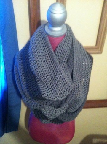 multi gray cowl