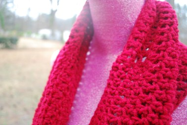 sweet red cowl