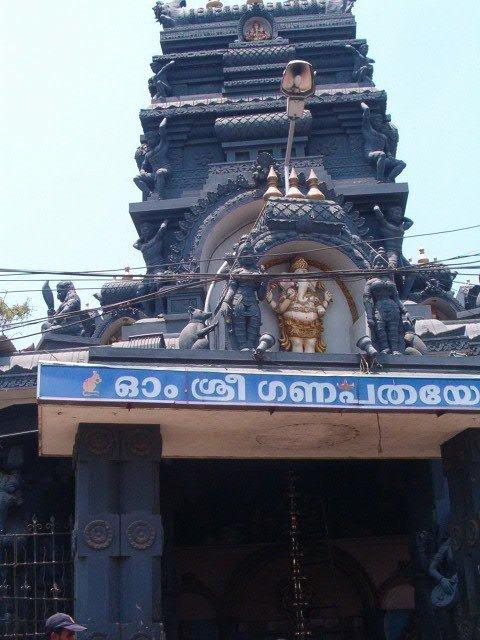 Tempel in Trivandrum, Kerala, Indien