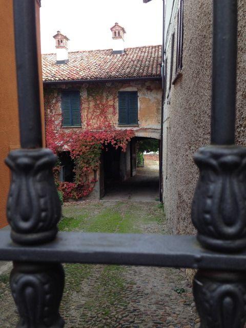 Innenhof in La Morra