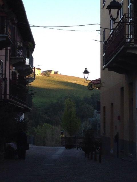 Barolo in der Abendsonne