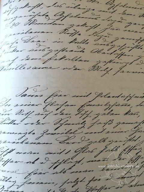 Handgeschriebene Rezeptsammlung