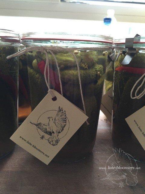 Latae Bloomers Honey Pickles Rezept