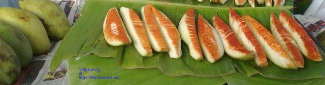 green mangoes