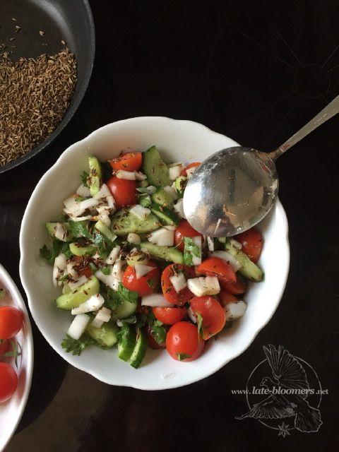 my Indian salad