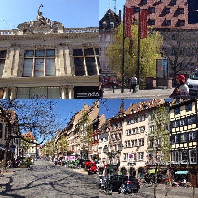 Strasbourg in April 2015