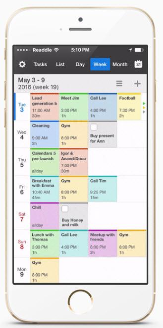 guide til at planl gge din hverdag brug kalender apps og alarm apps. Black Bedroom Furniture Sets. Home Design Ideas