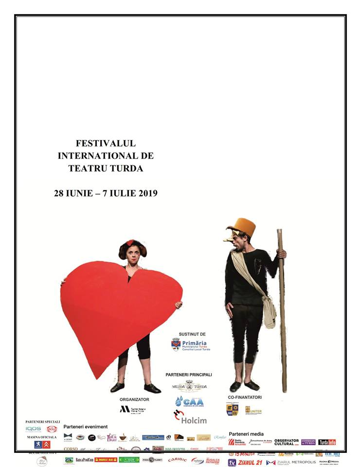 Festivalul International de Teatru Turda 2019 POSTER 2