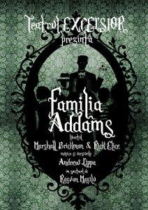 Familia Addams Teatrul Excelsior POSTER