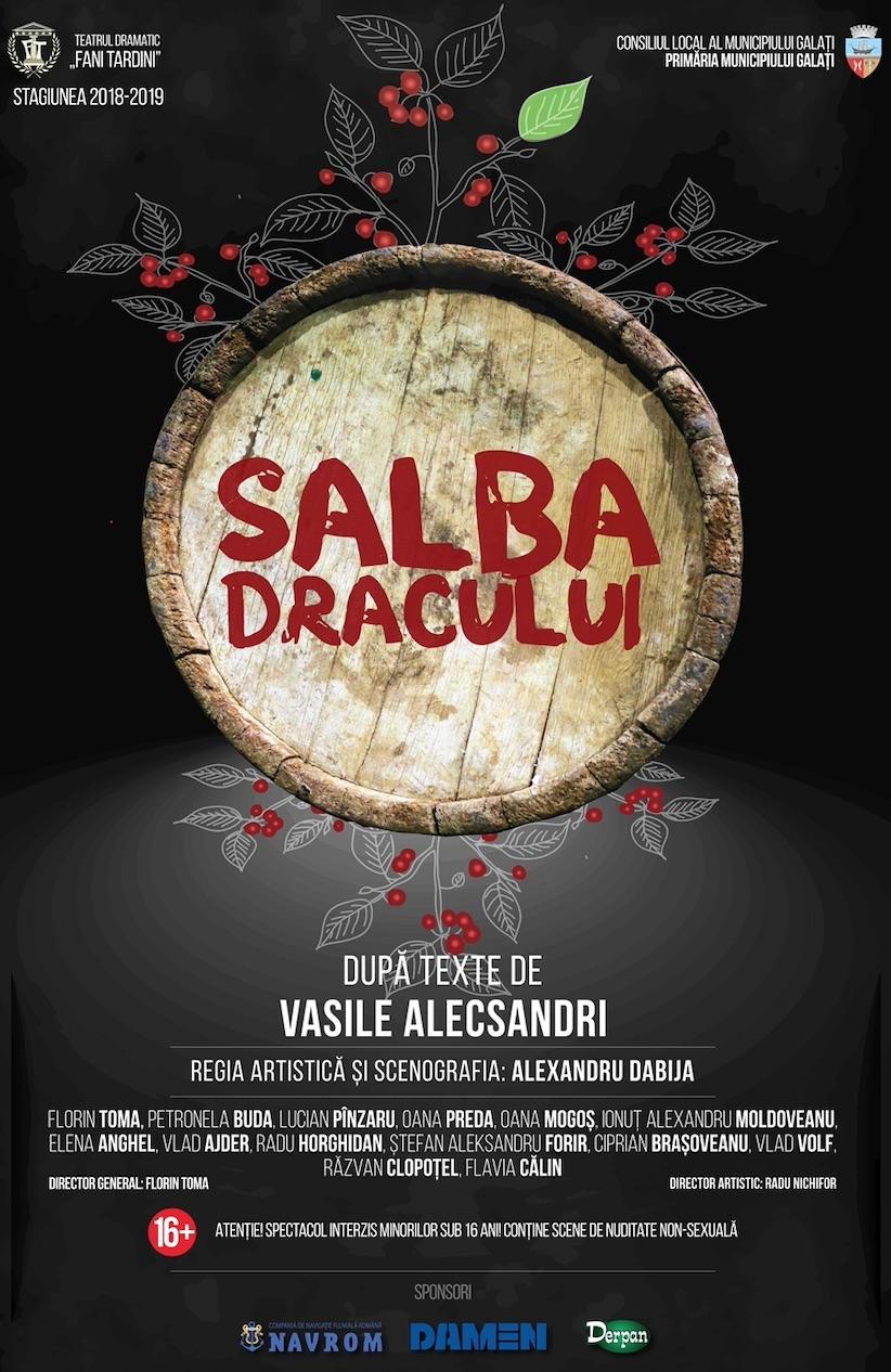 Salba Dracului - Teatrul dramatic Fani Tardini din Galati AFIS