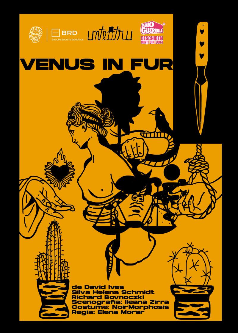Venus in fur UnTeatru POSTER