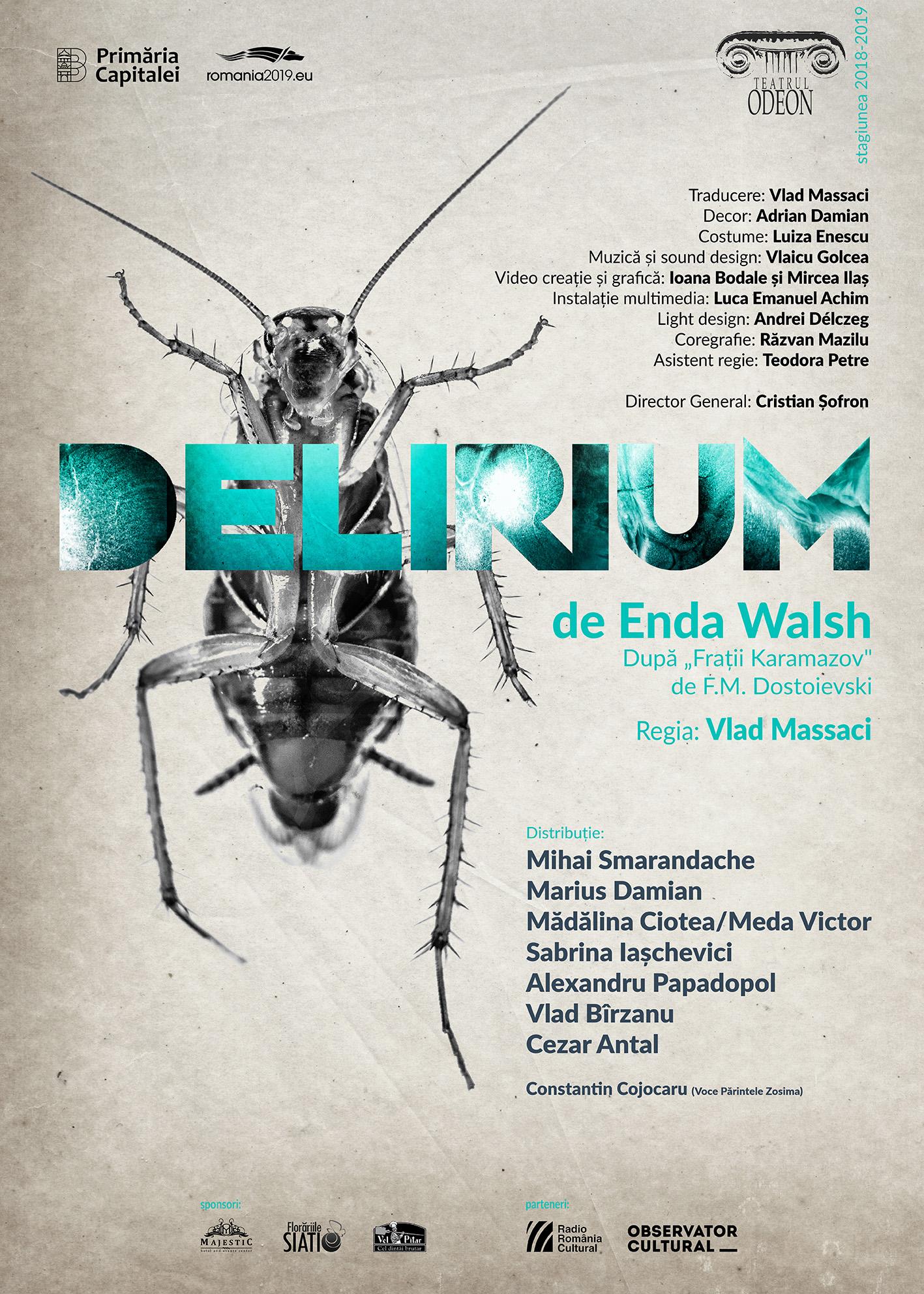Delirium - Teatrul Odeon AFIS