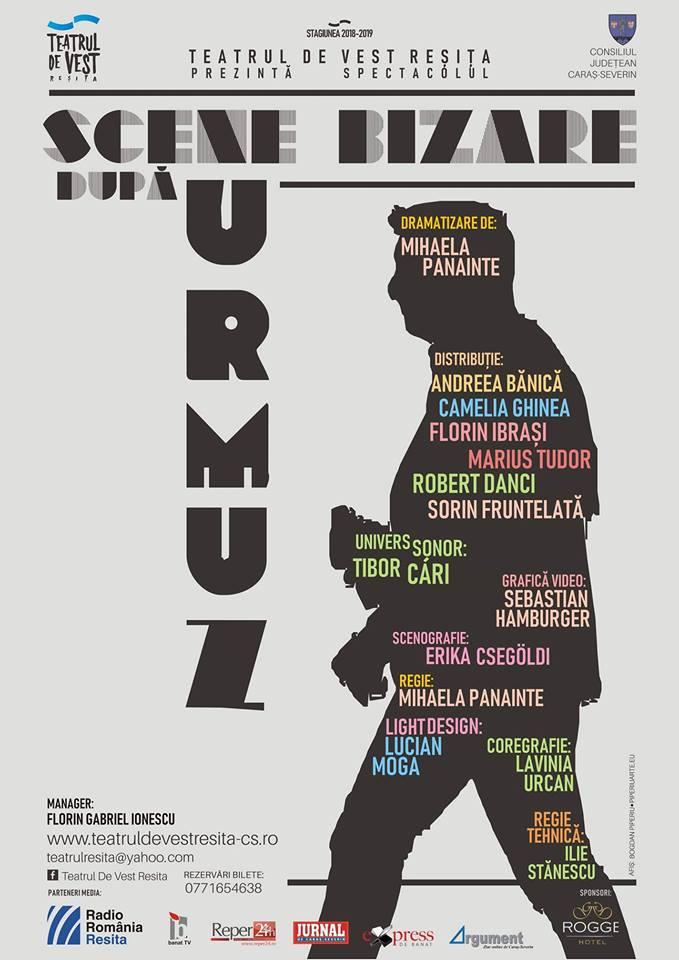 Scene bizare dupa Urmuz – Teatrul de Vest din Resita – FEST-FDR 2020