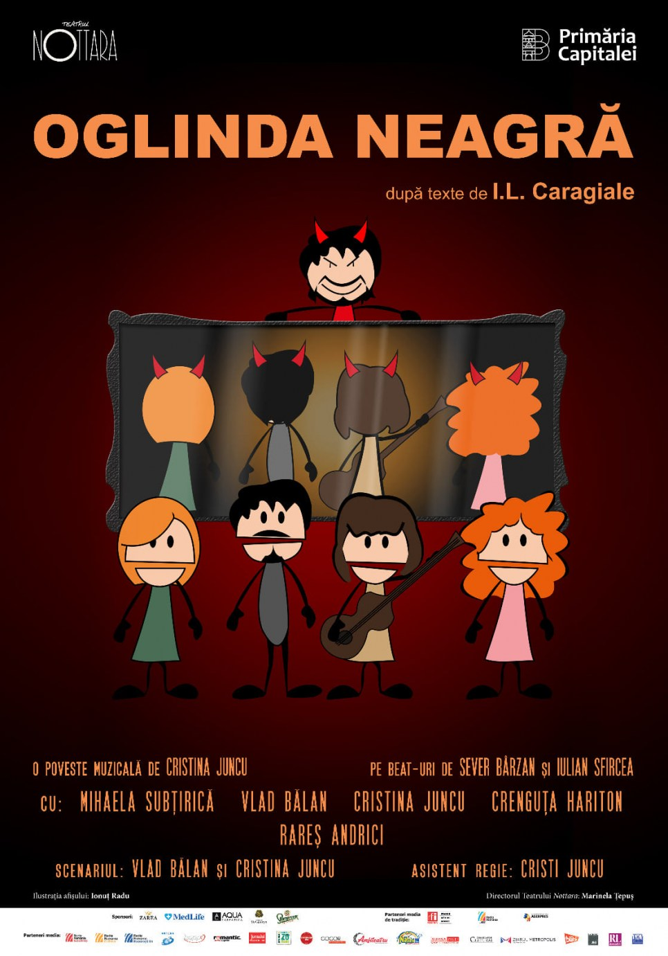 Oglinda neagra - Teatrul Nottara poster