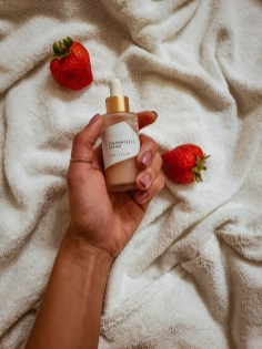 Volition Beauty Strawberry Serum Vitamin C | Late By Lattes