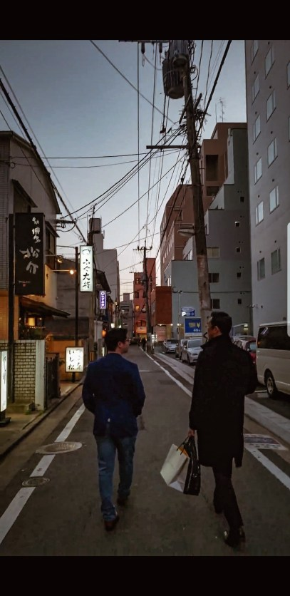 Alleyway in Fukuoka