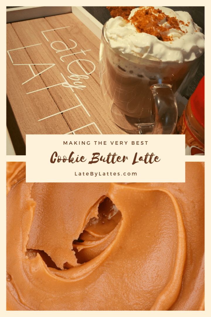 Easy Cookie Butter Latte