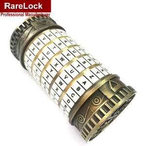 Five-letter password combination lock