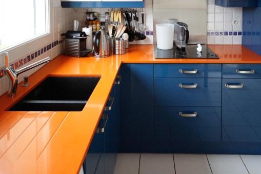 Cuisine orange © L'ATELIER DE PIERRE Quimper