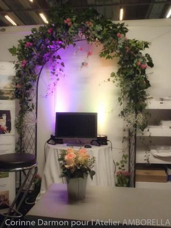 Mariage la que amborella by corinne for Porte de versailles salon du mariage
