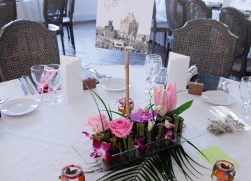 Decoration Table Mariage Exotique Decoration Table Mariage Turquoise