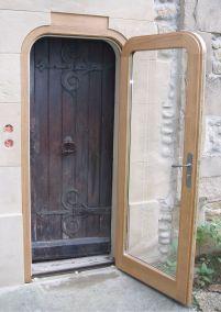 porte rénovation église sur mesure