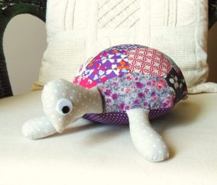 coudre une tortue patchwork