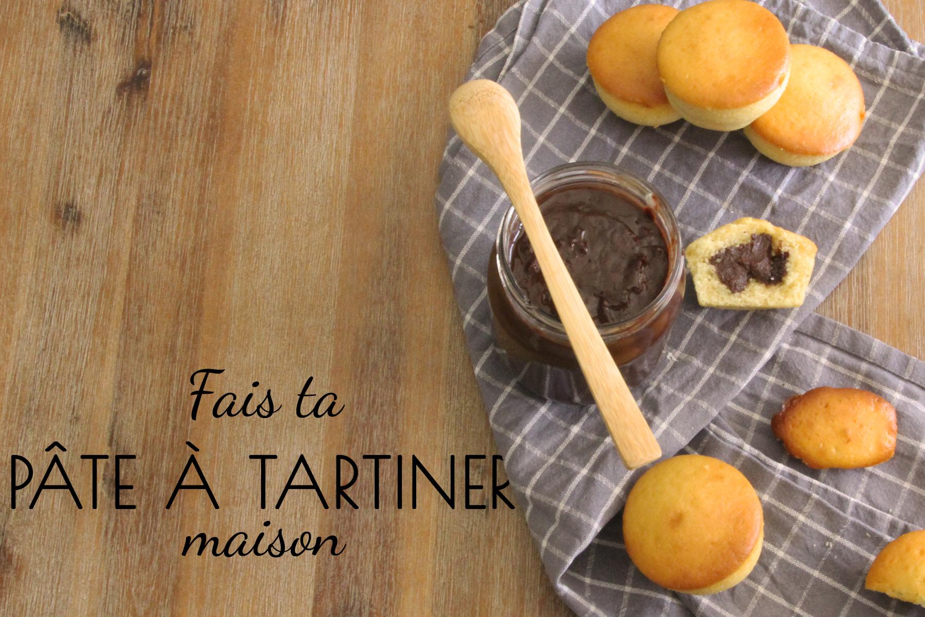 Fais ta pâte à tartiner maison - L'atelier de Lexie