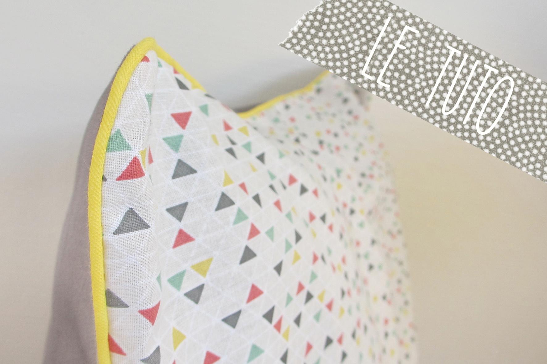 latest tuto housse de coussin avec fermeture eclair with tuto housse de coussin avec fermeture. Black Bedroom Furniture Sets. Home Design Ideas