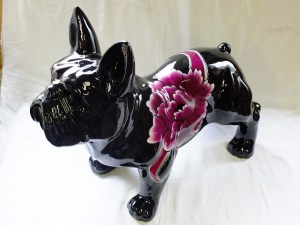 [L'atelier De So] Peinture personnalisée sur animal en résine (ici, un chien)